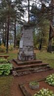 II maailmasõjas hukkunute ühishaud, vaade lõunast. Foto: M.Abel, kp 04.10.18