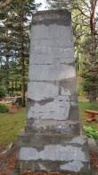 II maailmasõjas hukkunute ühishaud, vaade idast. Foto: M.Abel, kp 04.10.18