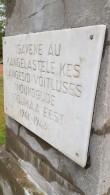 II maailmasõjas hukkunute ühishaud, mälestusplaat. Foto: M.Abel, kp 04.10.18