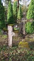 Riste Väike-Maarja kalmistult. Foto: M.Abel, kp 04.10.18