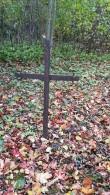 Vana rist Hulja kalmistul. Foto: M.Abel, kp 04.10.18