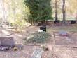 Arheoloogiliste uuringute käigus leitud säilmete matmispaik Kodavere kalmistul. Foto I. Raudvassar 16.10.2018