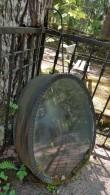 Esku kalmistu, plekkpärg plekkvannis. Foto: M.Abel, kp 22.05.18