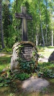Esku kalmistu, von Fockide hauaplats. Foto: M.Abel, kp 22.05.18