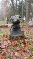Hauatähis Simuna kalmistult. Foto: M.Abel, kp 05.11.18