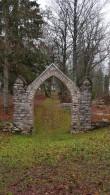 Simuna kalmistu põhjapoolne värav. Foto: M.Abel, kp 05.11.18