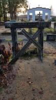 Hauatähis Tapa linnakalmistul. Foto: M.Abel, kp 01.11.18