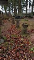 Hauatähised Viru-Nigula kalmistul. Foto: M.Abel, kp 01.11.18
