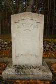 II maailmasõjas hukkunute ühishaua mälestustahvel Vananõmme kalmistul. Foto Üllar Alev 17.190.2018.