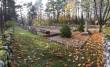 II maailmasõjas hukkunute ühishaud Vananõmme kalmistul, vaade idapoolsest nurgast. Foto: Keidi Saks, 17.10.2018