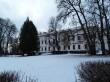 Udriku mõisa peahoone. Foto: Raili Uustalu 07.12.2018. Kaugvaade hoonele kirdest.