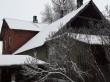 Jäneda mõisa valitsejamaja. Foto: Raili Uustalu 201.12.2018. Vaade hoone otsaküljele läänest.