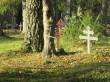 Hellamaa kalmistu hauatähised. Foto: Keidi Saks, 16.10.2018