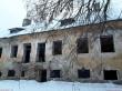 Kihlevere mõisa peahoone. Foto: Raili Uustalu 03.01.2019. Vaade hoone tagaküljele põhjast.