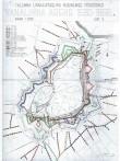 Tallinna uusaegsete kindlustuste areng. Rein Zobeli joonis Tallinna vanalinna regenereerimisprojektist 1968-69.