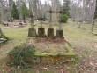 Hauad Silla kalmistu luterlikus osas. Foto: Keidi Saks, 20.02.2019