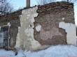 Vinni mõisa valitsejamaja. Foto: Raili Uustalu 26.02.2019. Ulatuslikud kahjustused varemetel.