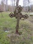 Hauatähis Ööriku kalmistul. Foto: Keidi Saks, 25.02.2019