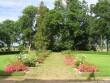 Vasta mõisa park ,reg. 16044 peahoone esine, vaade rõdult, Anne Kaldam  kuupäev 28.07.2009