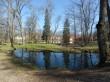 Vaade Olustvere mõisa pargi tiikidele Foto 17.04.2019 Anne Kivi
