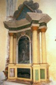 Altarisein. N. Lorentzen, 1827 (puit, polükroomia) Foto: Sirje Simson 2007