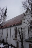 Püha vaimu kiriku vaade SO-st. Foto Eero Kangor, 8.01.2019