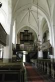 Sisevaade Nõo kirikus W suunas. Ü.Jukk 15.07.2009