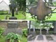 Väike-Maarja kirikuaed ja kalmistu, reg nr 5818. Hauamonumente Väike-Maarja kirikaiast - Harpe, Maydell, Dehn, Krusenstern. Foto: M. Abel, 08.09.2009.