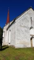 Viru-Jaagupi kirik, vaade idast. Foto: M.Abel, kp 30.05.19