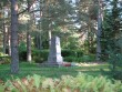 II maailmasõjas hukkunute ühishaud, reg. nr 5762. Vaade loodest. Foto: M.Abel, kuupäev 11.09.2009