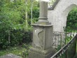 Restaureerimisvajadusega hauatähis peavärava kõrval nr 349. Kalli Pets 15.09.2009,