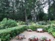 Tudu kalmistu. Foto: Raili Uustalu 15.08.2019. Hauaplatside kujundused tulevad esile kalmistu üldpildis.