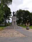 Vabadussõja mälestussammas Koerus. Foto: K. Klandorf 31.07.2019.