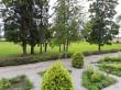 Taagepera mõisa park ja alleed. Foto: Raili Uustalu 08.08.2019. Vaade terrassilt alla puhkealale.