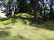 Vihula mõisa kelder 1. Foto: Raili Uustalu 18.07.2019. Vaade keldrile lõunast.