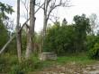 Vaade lõunast külateelt kaevu juurest. Foto: Kalli Pets, 30.09.2009.