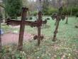 Ööriku kalmistu ristid. Foto: Rita Peirumaa. Kuupäev: 26.09.2011