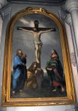 "Altarimaal ""Kristus ristil"". H. Macker, G. Reni järgi, umb. 1885 (õli, lõuend) Foto: S.Simson, 2008"