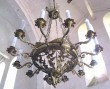 Kroonlühter kaheteistkümne tulega. 19. saj. (pronks, messing, valatud) Foto: S.Simson, 2008