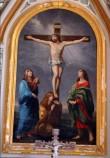 "Altarimaal ""Kristus ristil"". H. Macker, Guido Reni järgi, 1887 (õli, lõuend) Foto: S.Simson 2008"