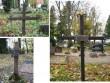 Viru-Nigula kalmistu, reg. nr 5810. Erinevaid hauatähiseid kalmistult. Foto: M.Abel, kuupäev 16.10.2009