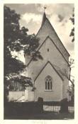 """Eesti. Muhu kirik. Seeria """"Kaunis kodumaa"""" nr. 1472  Fotopostkaart, autor: Joh. Triefeldt, Rakvere 1936"""