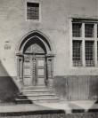 Lai 29 raidportaal koos uksega pärineb Vene 11 hoonelt, mis kannatas 1944. aasta märtsipommitamises ja II ms järel lammutati.  Foto: TLPA muinsuskaitse osakonna fotokogu