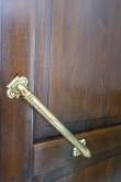 Magasini 1a restaureeritud ukse sisekülje detail. Foto Egle Tamm, 21.05.2020.