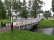 Väätsa mõisa pargi sild ja paviljon. Foto: K. Klandorf 07.07.2020.