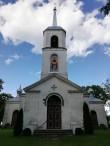 Nina õigeusu kirik 1827. a. Foto autor E. Tohvri 24.07.2020.