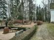 Viru-Jaagupi kalmistu. Foto: Raili Uustalu 26.11.2019. Vaade hauaplatsidele.