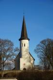 Lüganuse kirik. Vaade läänest. Foto: Kalle Merilai 10.11.20