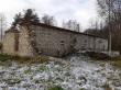 Põhjaka mõisa vesiveski varemed, vaade kagust tagaküljele. Foto: K. Klandorf 20.11.2020.