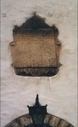 Tekstitahvel. 1597 (paas). Foto: J.Heinla 2002